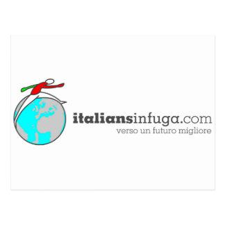 Italiansinfuga Postcard