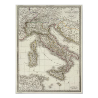 Italie ancienne - ancient Italy Poster