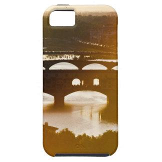 Italien, Florenz, Ponte Vecchio und der Arno an iPhone 5 Cases
