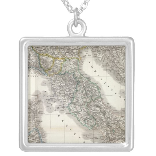 Italien - Italy Silver Plated Necklace