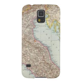 Italien nordliche Halfte, Map of North Italy Galaxy S5 Case