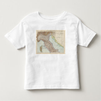 Italien nordliche Halfte, Map of North Italy Toddler T-shirt