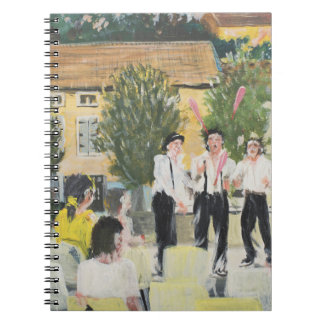 Italien Performers Laignes France . 2006 Notebook