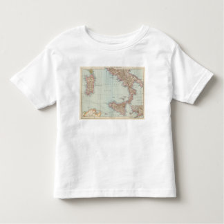 Italien sudliche Halfte, Map of South Italy Toddler T-shirt