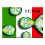 ITalienS are OUT OF THIS WORLD! Postcards