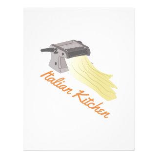 Italinan Kitchen Letterhead