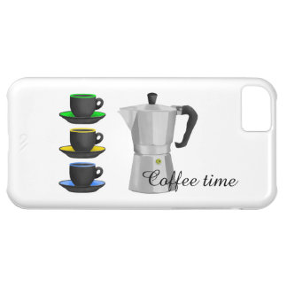 Italion Espresso Maker Coffe Lovers Design iPhone 5C Case