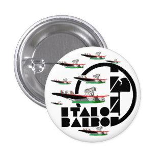 ITALO BALBO PIN REDONDO DE 1 PULGADA