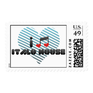 Italo House Postage Stamps