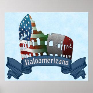 Italoamericano Italian American Poster