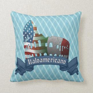 Italoamericano Italian American Throw Pillow