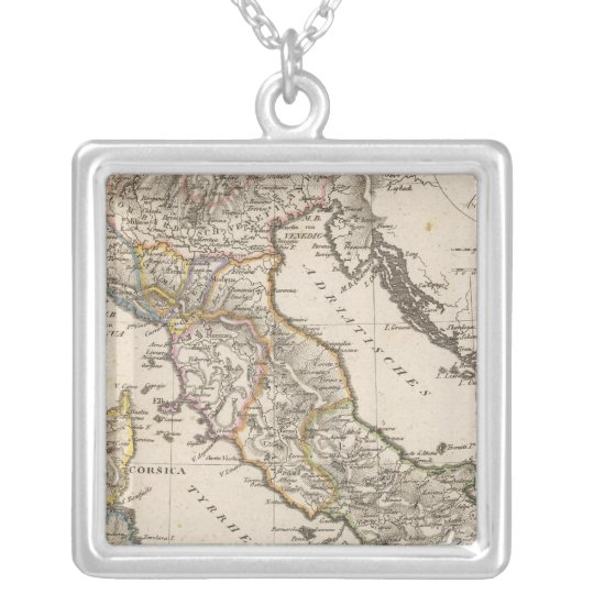 Italy 11 silver plated necklace