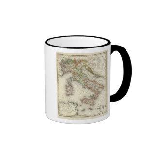 Italy 12 ringer coffee mug