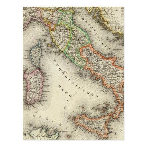 Italy 12 postcard