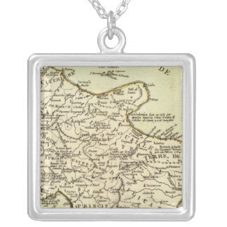 Italy 14 square pendant necklace