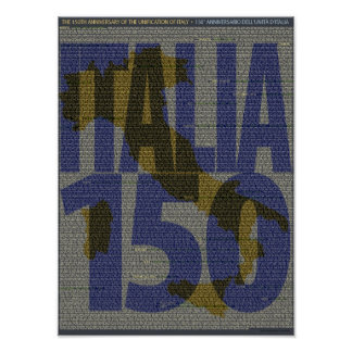 Italy 150th Anniversary of Unification Print