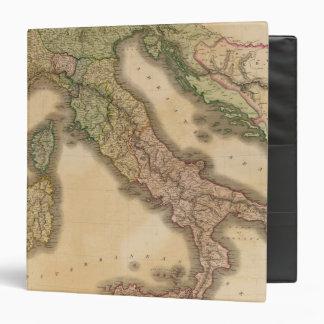 Italy 16 binder