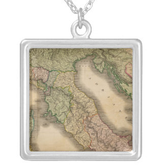 Italy 16 silver plated necklace