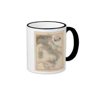 Italy 17 ringer coffee mug