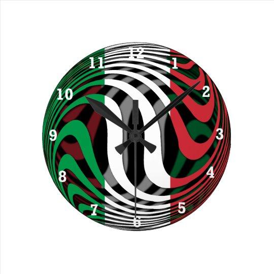 Italy #1 round clock
