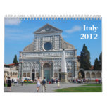 Italy 2012 Calendar