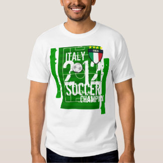 Italy 2012 Soccer Champion T Shirts