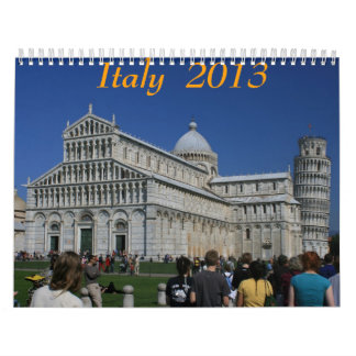 Italy  2013 calendar