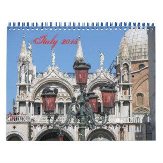 Italy 2015 photography calendar