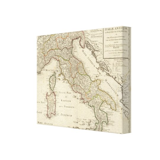 Italy 20 canvas print
