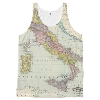 Italy 26 All-Over print tank top