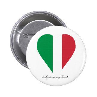 ITALY 2 INCH ROUND BUTTON