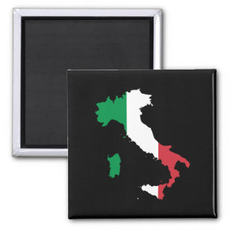 Italy 2 Inch Square Magnet