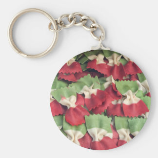 Italy 3 Colored Pasta Keychain