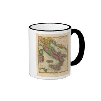 Italy 3 ringer coffee mug