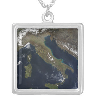 Italy 3 silver plated necklace