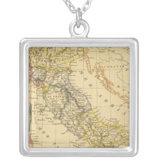 Italy 4 silver plated necklace