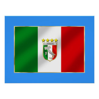Italy 4 times world champions shirts and gifts poster