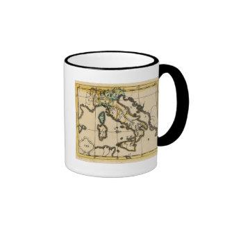Italy 7 ringer coffee mug