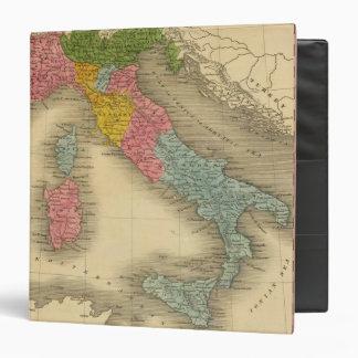 Italy 8 3 ring binder