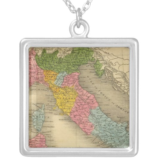 Italy 8 silver plated necklace