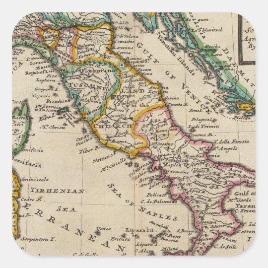 Italy 9 square sticker