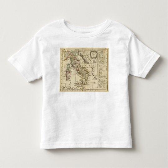 Italy 9 toddler t-shirt
