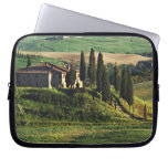 Italy. A pastoral Tuscany villa in Val d'Orcia. Laptop Sleeves