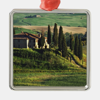 Italy. A pastoral Tuscany villa in Val d'Orcia. Metal Ornament