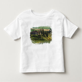 Italy. A pastoral Tuscany villa in Val d'Orcia. Toddler T-shirt