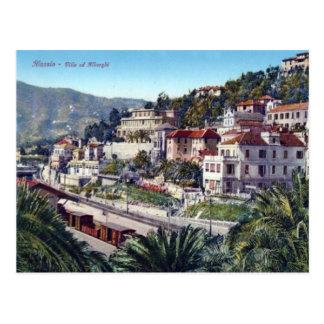 Italy,  Alassio, Railway station Postcards
