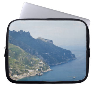 Italy, Amalfi Coast, High angle view on town at Computer Sleeve