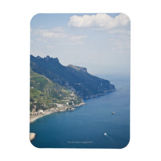 Italy, Amalfi Coast, High angle view on town at Magnet