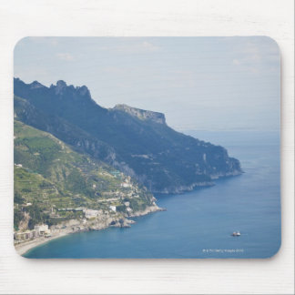 Italy, Amalfi Coast, High angle view on town at Mouse Pad