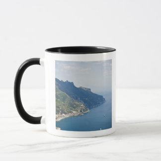 Italy, Amalfi Coast, High angle view on town at Mug